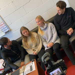 Interview Women's Soccer at Stony Brook University