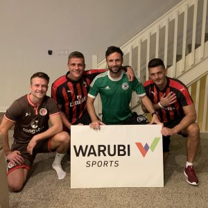Max Wilschrey & Torre Wiedenroth from Chattanooga FC visiting the WARUBI Office