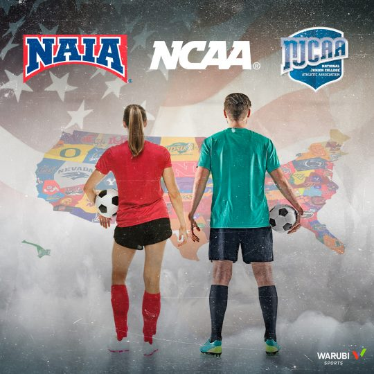 What is the difference between the NCAA and NAIA?