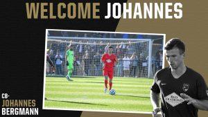 Johannes Bergmann signs with Birmingham Legion FC in USL Championship