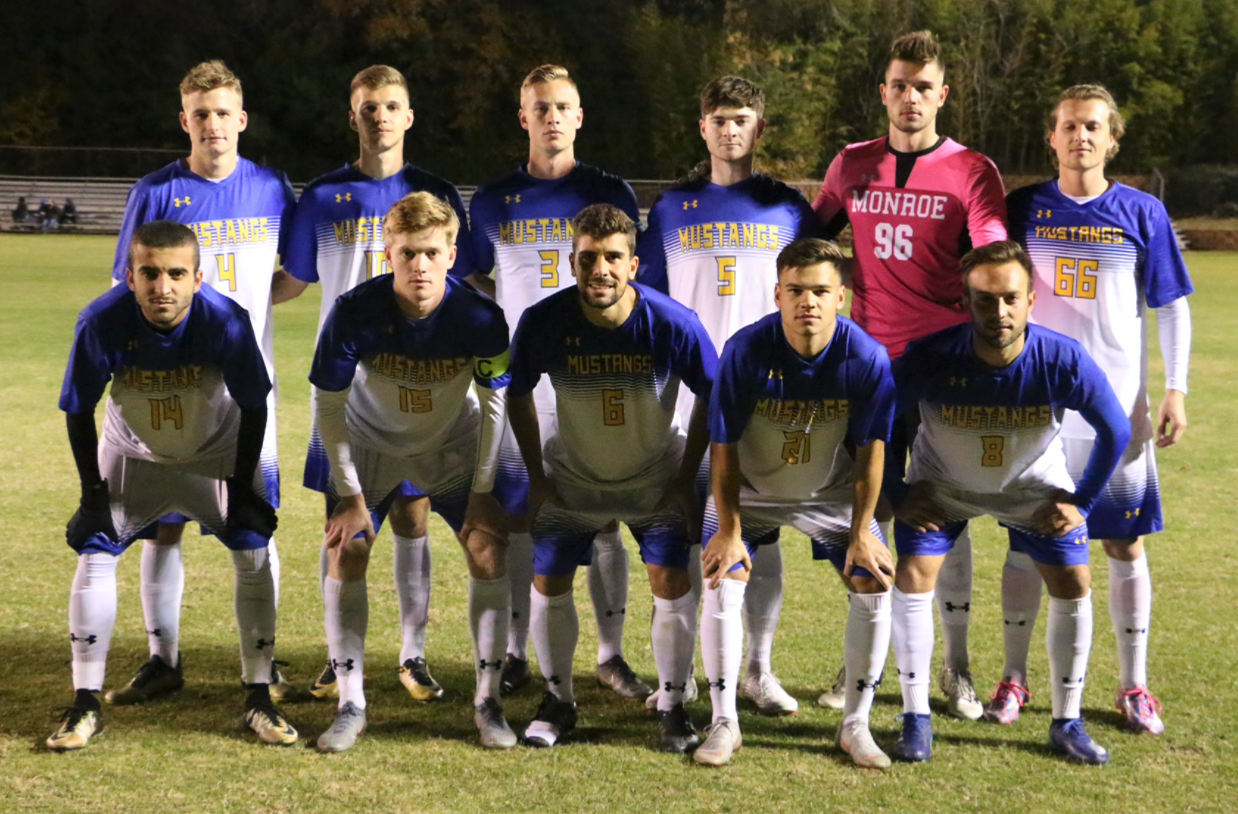 Monroe College Starting XI for NJCAA National Championship Game