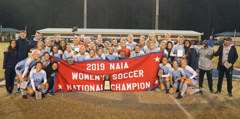 2019 NAIA National Championship - Keiser University Women's Soccer Team