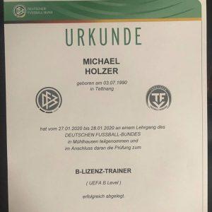 UEFA-B License
