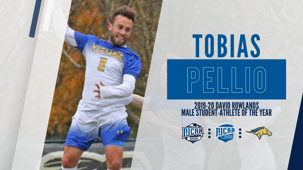 Student-Athlete of the Year – Tobias Pellio