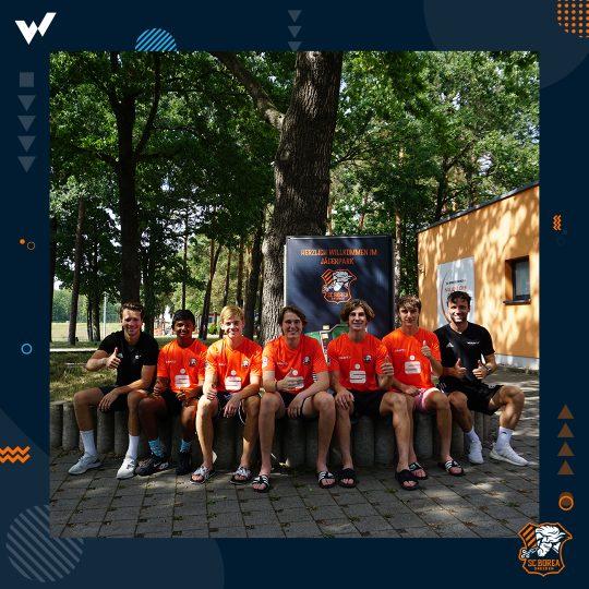 US-boys at International Soccer Academy in Dresden