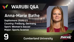 Women's College Soccer at Cumberland University – From Germany to the USA