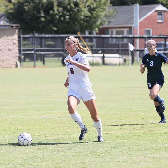 Women's College Soccer - Marie Bathe at Cumberland University